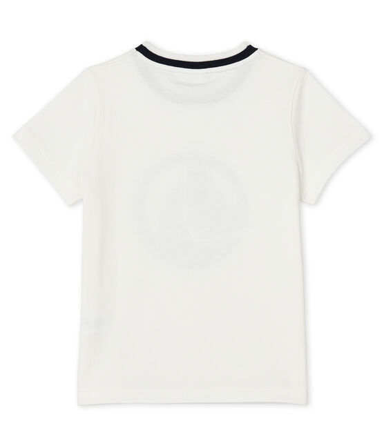 Boys' Short-sleeved T-shirt Marshmallow white