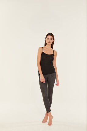 Women's thermal underwear in extra fine tube knit