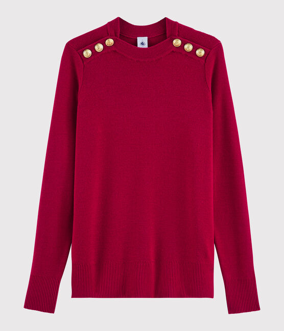 Women's woollen jumper Terkuit red