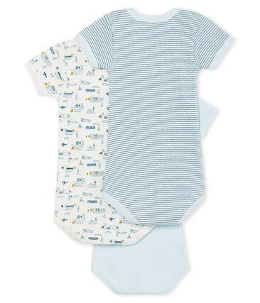 Baby Boys' Short-Sleeved Bodysuit - Set of 3