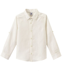 Boys' Shirt Ecume white