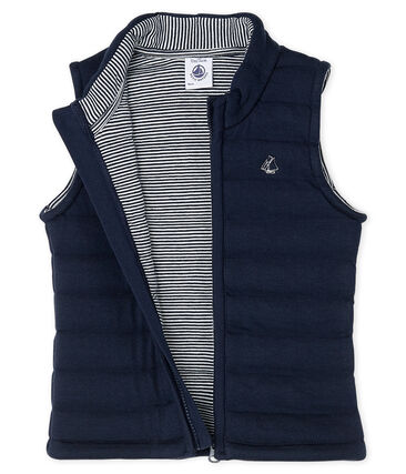 Unisex Baby's Sleeveless Jacket Smoking blue