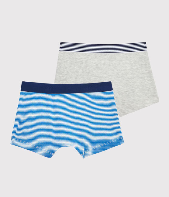 Boys' Pinstriped Boxer Shorts - 2-Piece Set . set