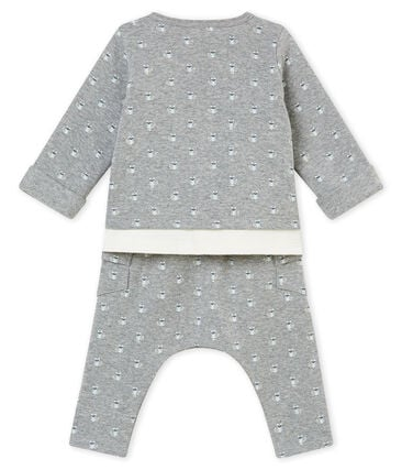 Baby boy's 3 piece printed set
