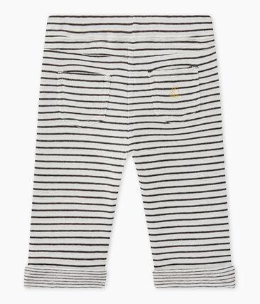 Baby boy's striped pants
