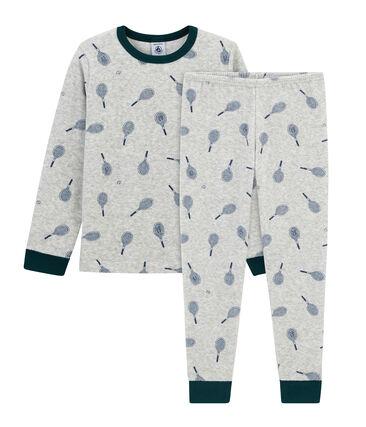 Boys' Pyjamas in Brushed towelling