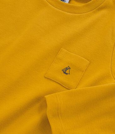 Boys' Long-Sleeved T-shirt Boudor yellow