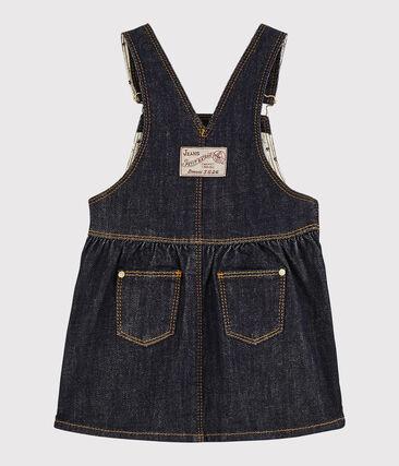Baby Girls' Denim Dungarees/Dress Jean blue