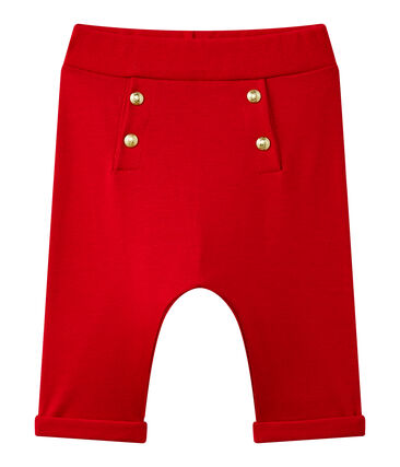 Baby girl's plain pants