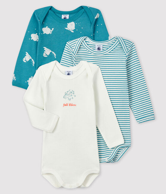 Baby Boys' Yeti Long-Sleeved Bodysuit - 3-Piece Set . set