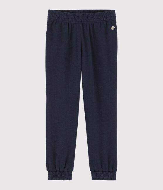 Girls' Smooth Velvet Trousers Smoking Cn blue
