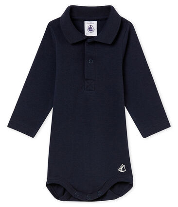 Baby boy's body with polo collar