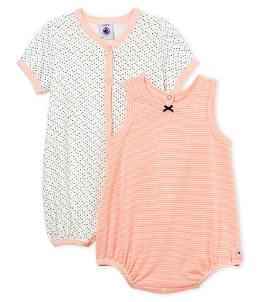 Baby Girls' Shortie - Set of 2