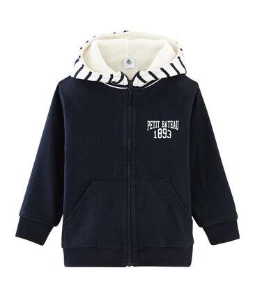 Boys' Reversible Zipped Sweatshirt