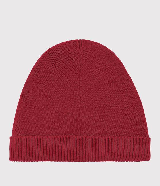 Women's woollen hat Terkuit red