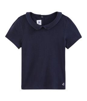 Girls' T-Shirt Smoking blue