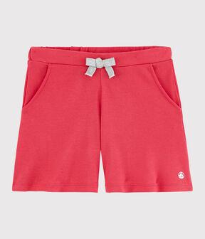 Girl's Cotton Shorts Groseiller pink