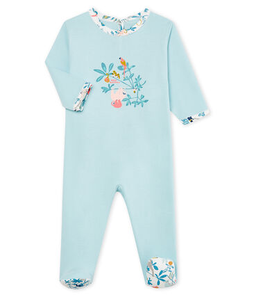 Baby Girls' cotton sleepsuit