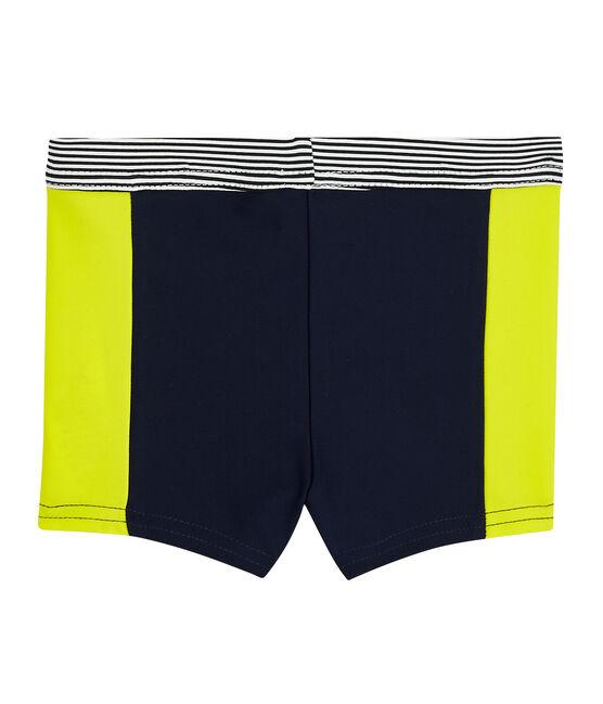 Baby Boys' Eco-Friendly Swimming Trunks Smoking blue / Jaune yellow