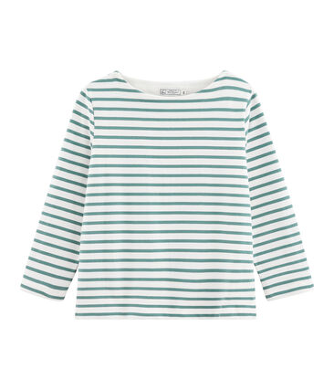 Women's Sailor Top Marshmallow white / Brut blue