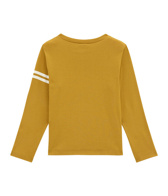 Boy's long sleeved T-shirt Inca yellow