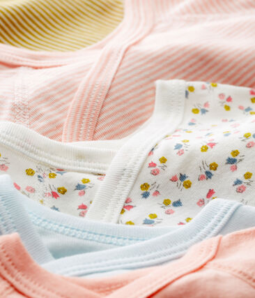 Baby Girls' Newborn Bodysuit - Set of 5