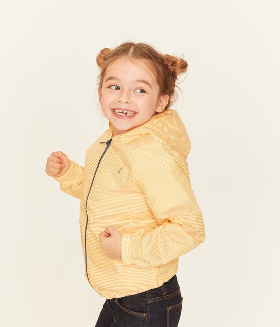 Unisex Children's Windbreaker Honey yellow / Marshmallow white