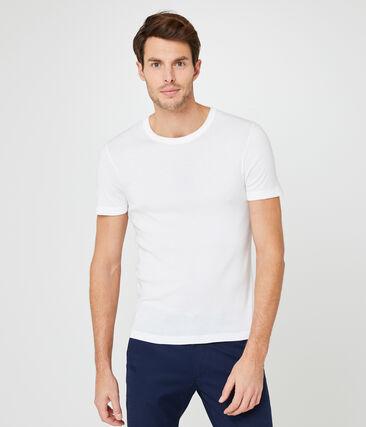 Men's T-shirt Ecume white