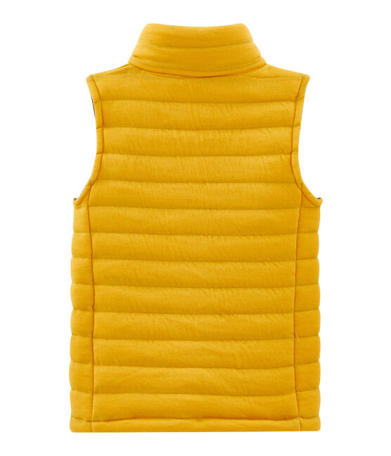 Unisex Children's Sleeveless Jacket Boudor yellow