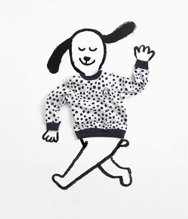 Sweatshirt Jean Jullien MARSHMALLOW/DOTTIES