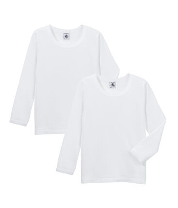 Girls' Long-Sleeved T-Shirt - 2-Piece Set . set