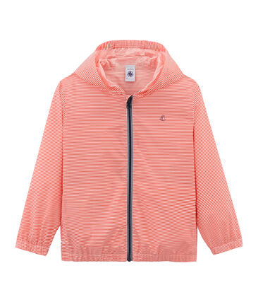 Unisex Children's Windbreaker Petal pink / Crystal blue