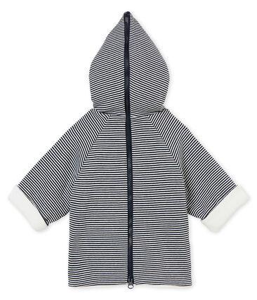 Baby boy's sweatshirt lined jacket