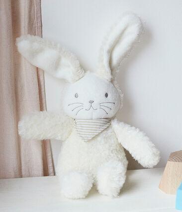 Babies' Musical Rabbit Sherpa Comforter Marshmallow white