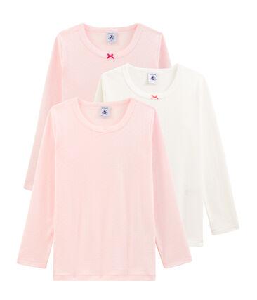 Girls' Long-sleeved T-Shirt - 3-Piece Surprise Set . set