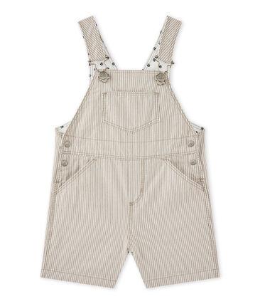 Baby boy short dungaree