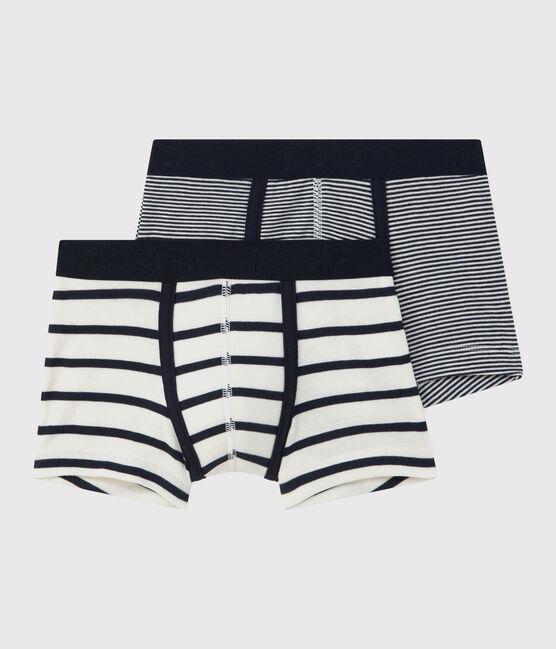 Boys' Striped Boxer Shorts - 2-Piece Set . set