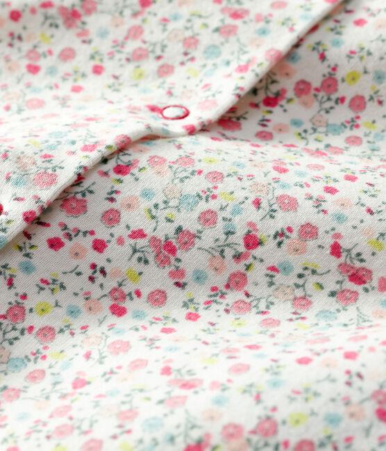 Baby Girls' Light Print Cardigan Marshmallow white / Multico white