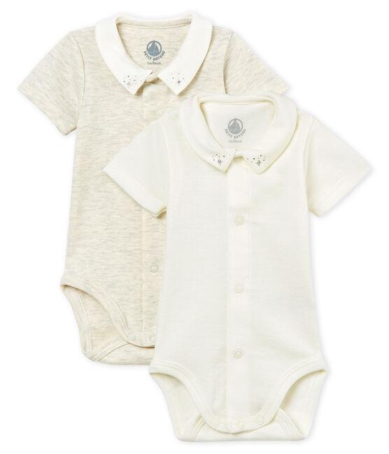 Baby boys' short-sleeved bodysuit – 5-piece set . set