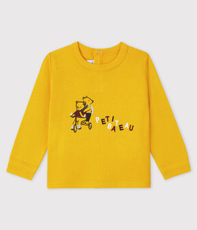 Baby boy's t-shirt Boudor yellow