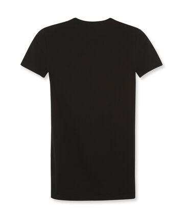 Women's Short-Sleeved Iconic T-Shirt Noir black