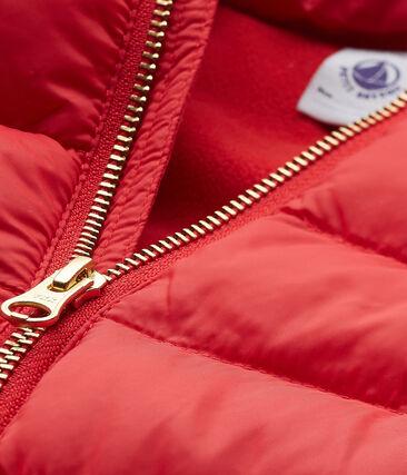 Girls' Down Coat Terkuit red