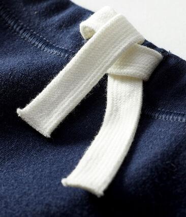 Unisex Baby's Plain Shorts Smoking blue