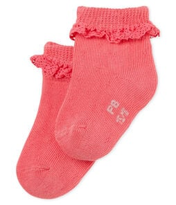 Baby girls' lace socks