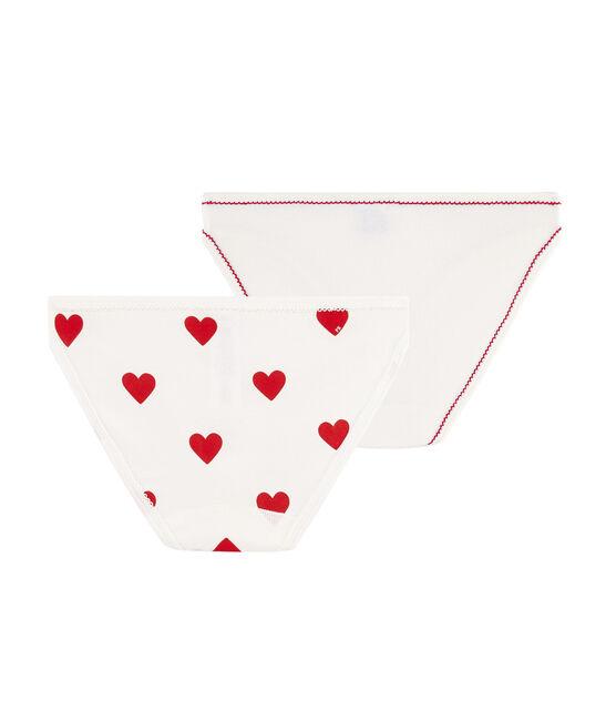 Women's heart briefs - Set of 2 . set