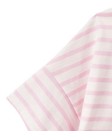 Women's jersey short-sleeve sailor top