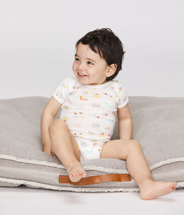 Baby Boys' Short-Sleeved Bodysuit - 5-Piece Set . set