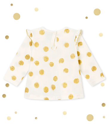 Baby girl's print blouse