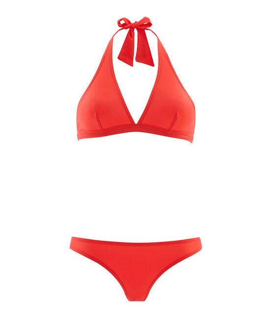 Women's 2-piece swimsuit Groseiller pink