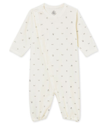 unisex baby's combi sleepsuit in a print tubic